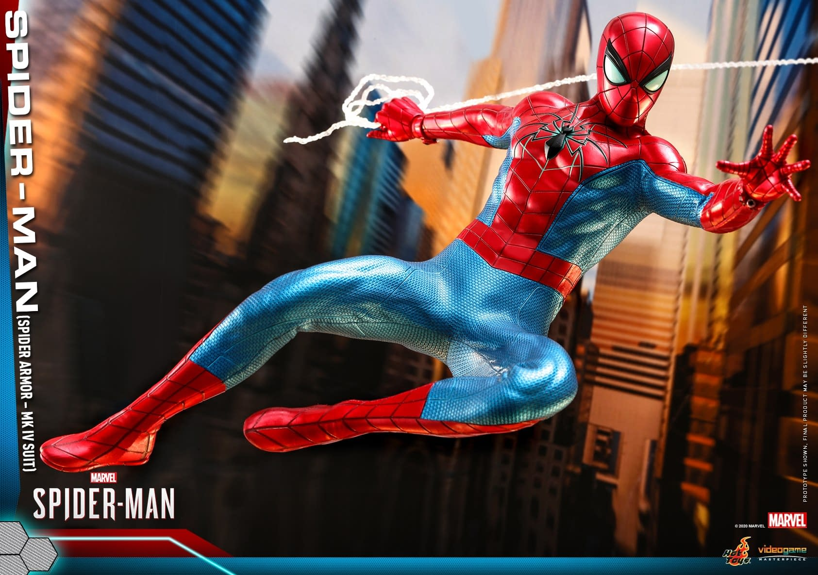 Spider-Man is All New and All Different with MK IV Hot Toys Figures