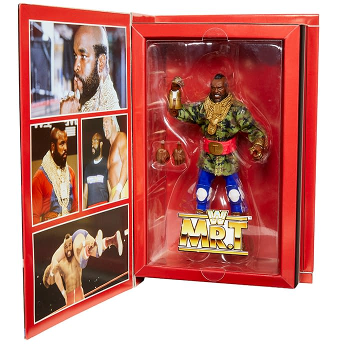 Mr.T Is This Years WWE Mattel SDCC Exclusive Figure