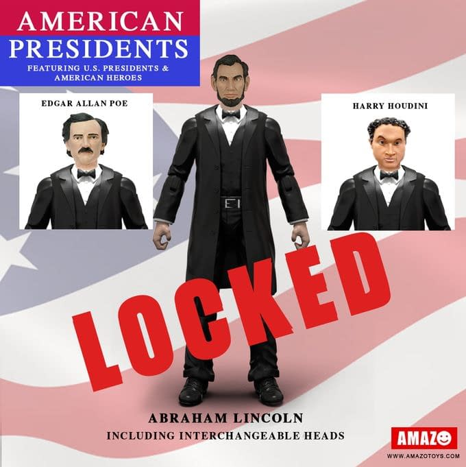 American Presidents Get Action Figures in New Kickstarter Campaign