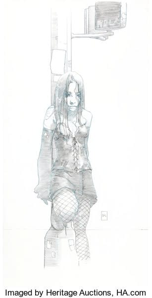 NYX #3 Cover Art By Joshua Middleton Is On Auction At Heritage