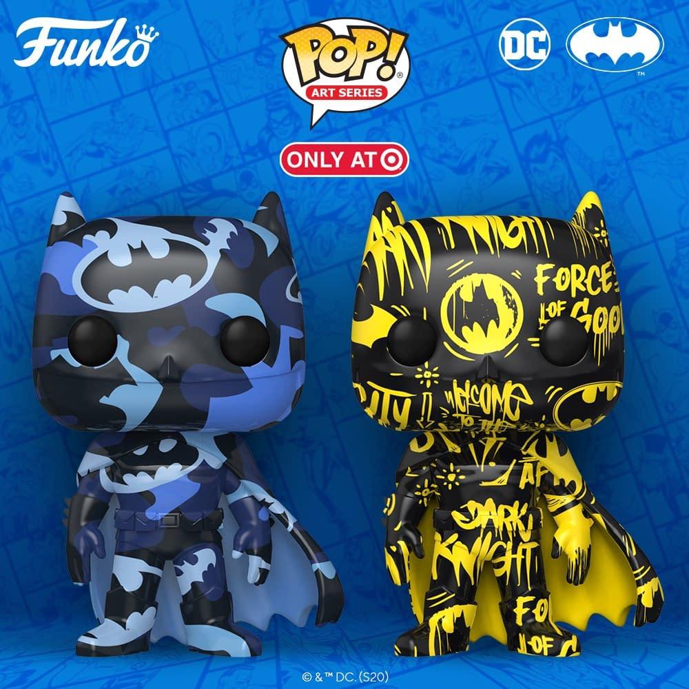 Funko Pop Vinyl Figure Batman Artist Series Target Exclusive Set
