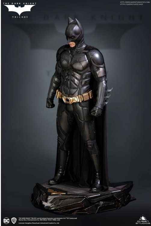 Batman The Dark Knight Gets Pricey With New Queen Studios Statue