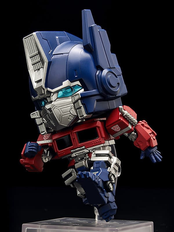 Optimus Prime Stands His Ground With New Good Smile Nendoroid