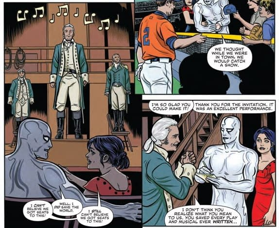 When Marvel Legally Failed to Publish Hamilton Comics.