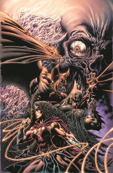 DC: The Doomed and the Damned #1 cover. Credit: DC Comics.