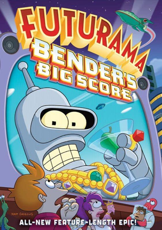 Futurama Bender's Big Score Cover