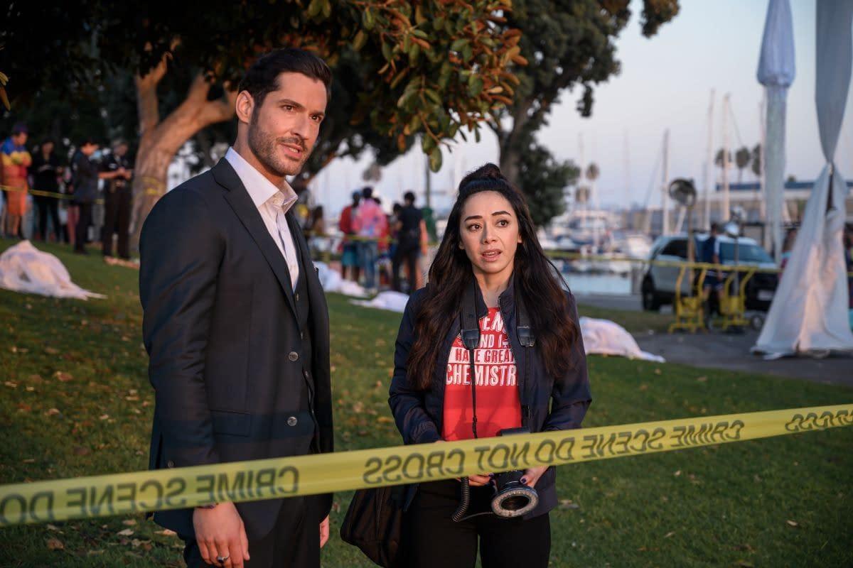 Lucifer Season 5 Preview Spotlights Chloe Maze Amenadiel More