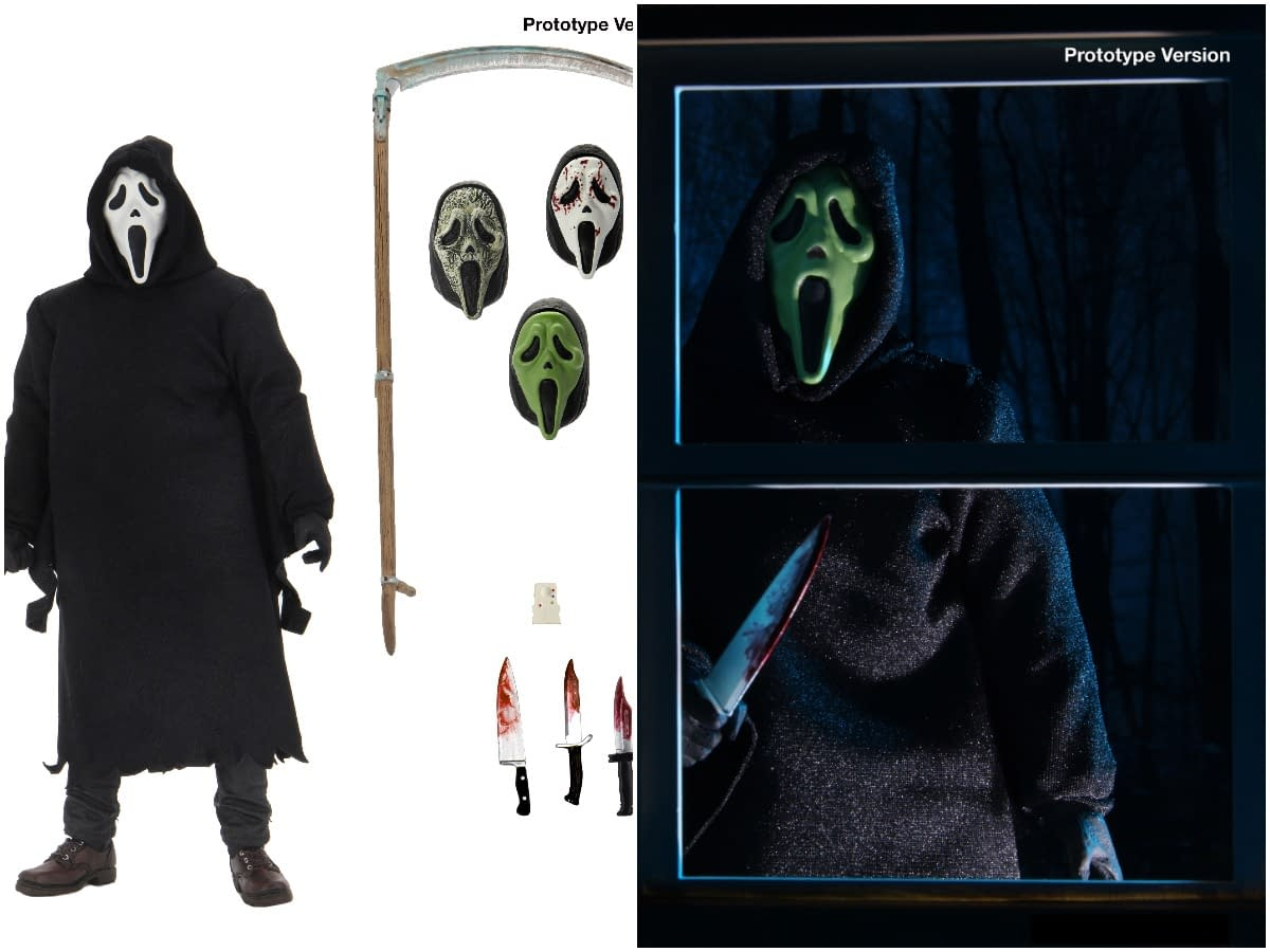 NECA Debuts Two New Ghostface FIgures From Scream Franchise