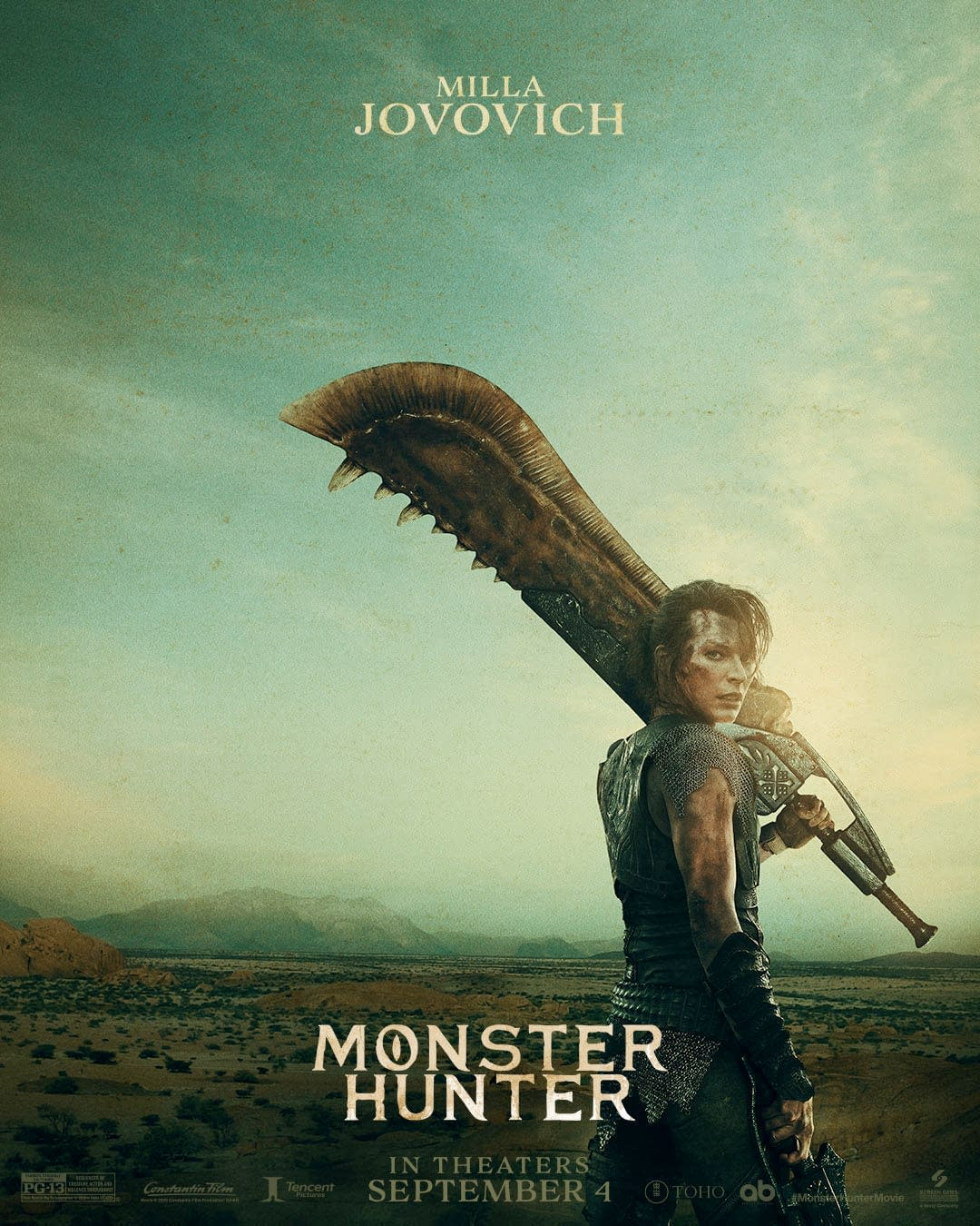 Monster Hunter Film Synopsis Posted Film Now Opens April 2021