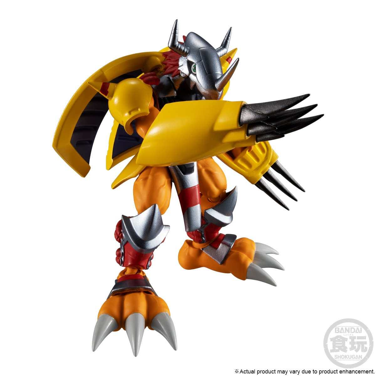 Digimon Digivolutions Get Complete Set of Figures with Bandai