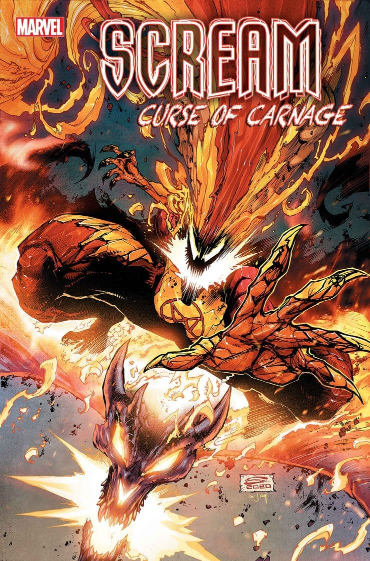 NM! SCREAM CURSE OF CARNAGE #2 Marvel Comics 2020