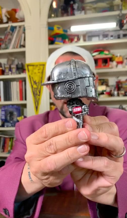 Kevin Smith Gives Us a First Look at the Iron Bob SDCC Exclusive Funko