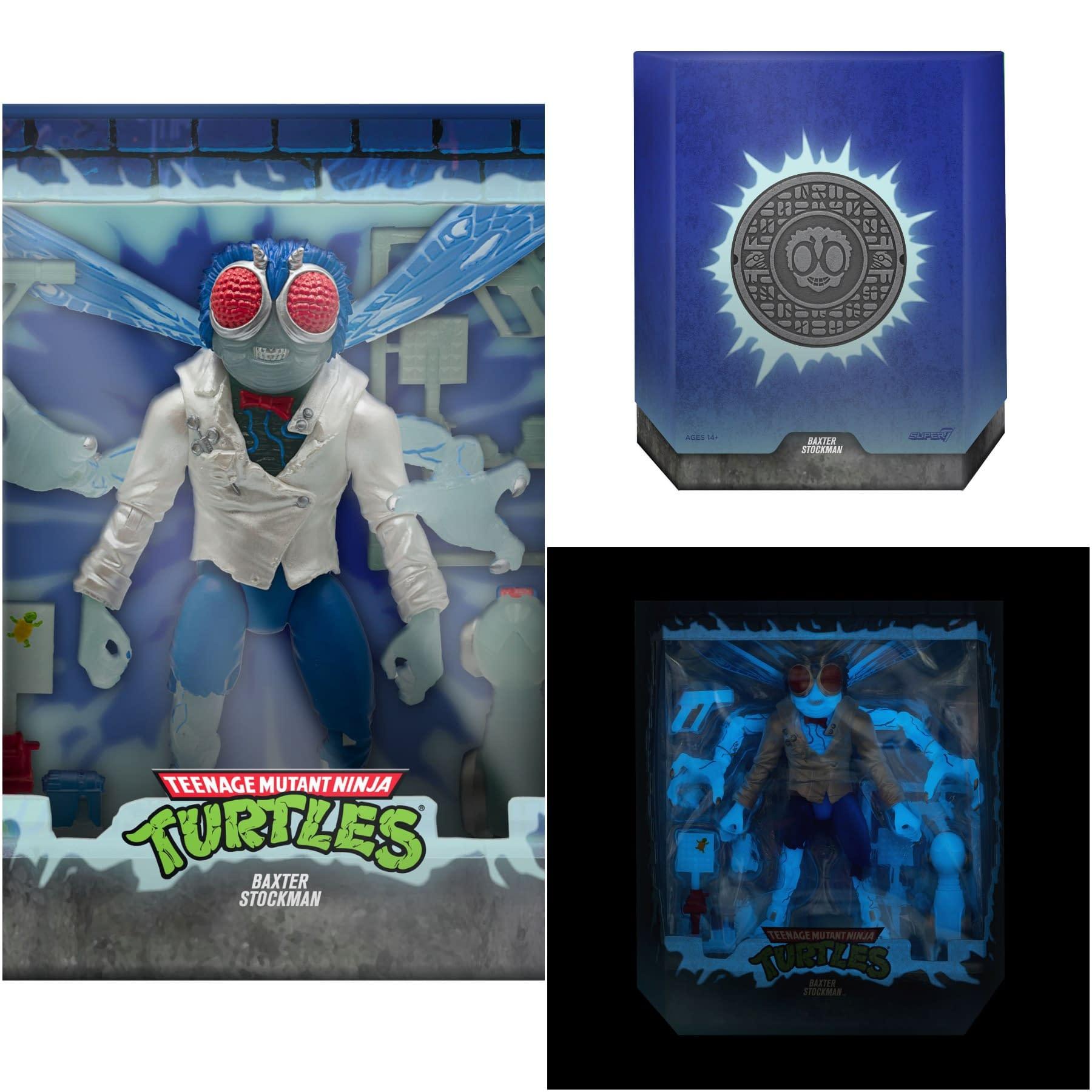 SDCC 2020 Super7 Teenage Mutant Ninja Turtles BAXTER STOCKMAN TMNT IN HAND NOW