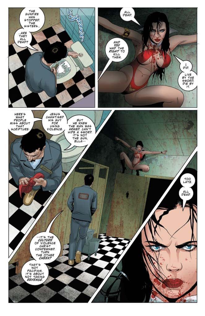 Vengeance of Vampirella #10 A B C D Cover Set