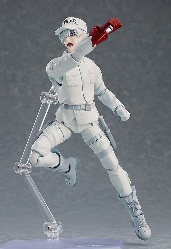 Cells At Work Anime Gets White Blood Cell figma from Max Factory