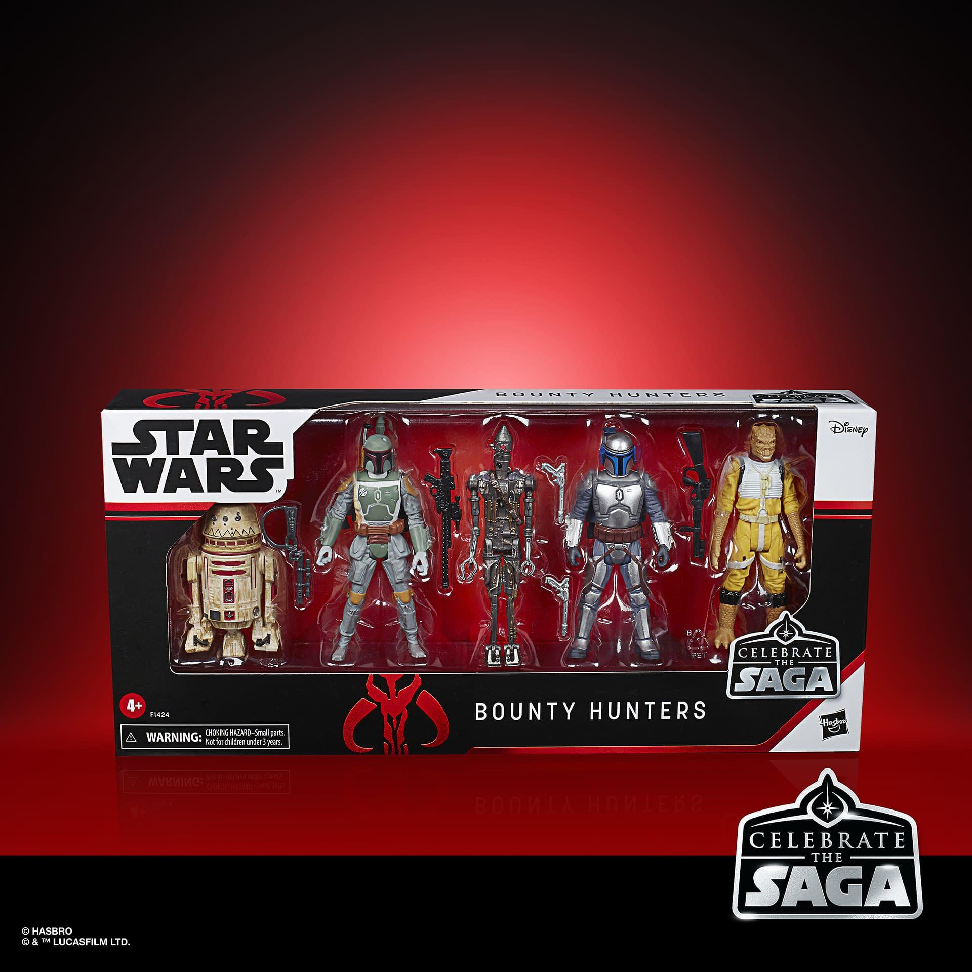 Star Wars célébrer la Saga Action Figures 5-Pack Galactic Empire