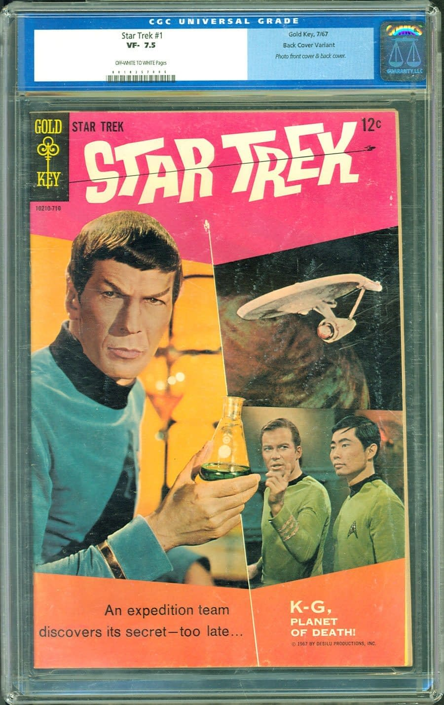 Add Star Trek #1 To Your Collection Thanks To ComicConnect