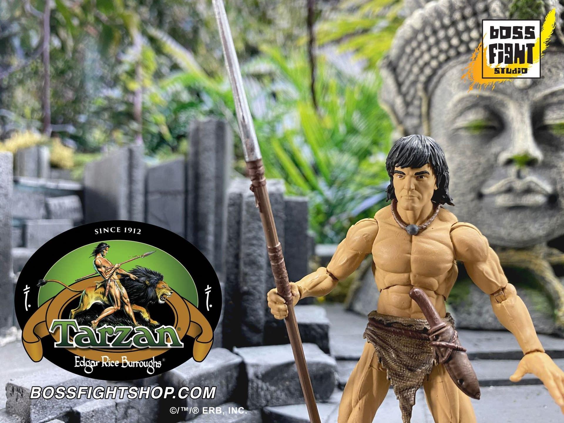Tarzan Swings on in With New Figures From Boss Fight Studio
