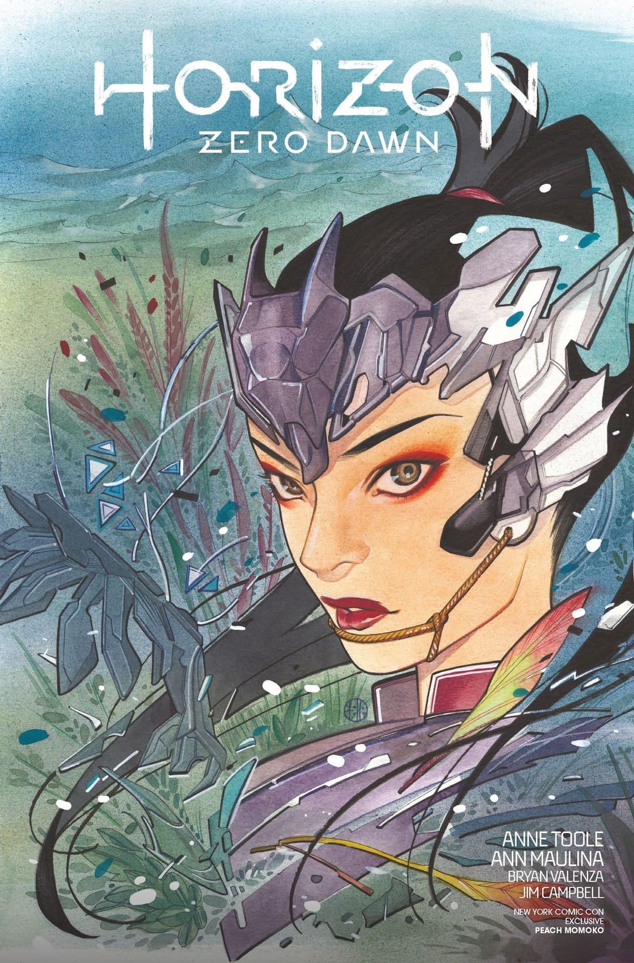 HORIZON ZERO DAWN #2 E FOC PEACH MOMOKO VARIANT COMIC BOOK BASED ON VIDEO GAME