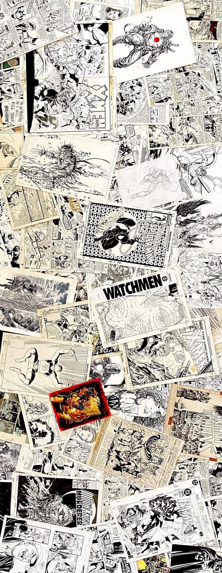 Dinesh Shamdasani's Original Comics Artwork Collection - On The Floor
