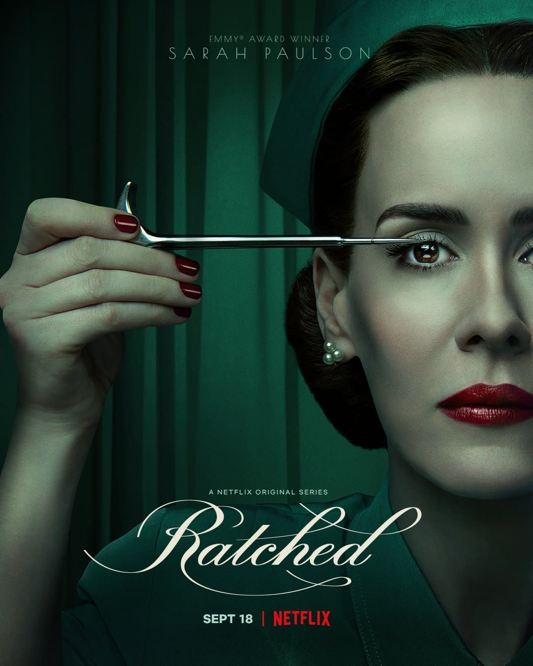 Ratched Sarah Paulson S Mildred Gets Right To The Point In New Poster
