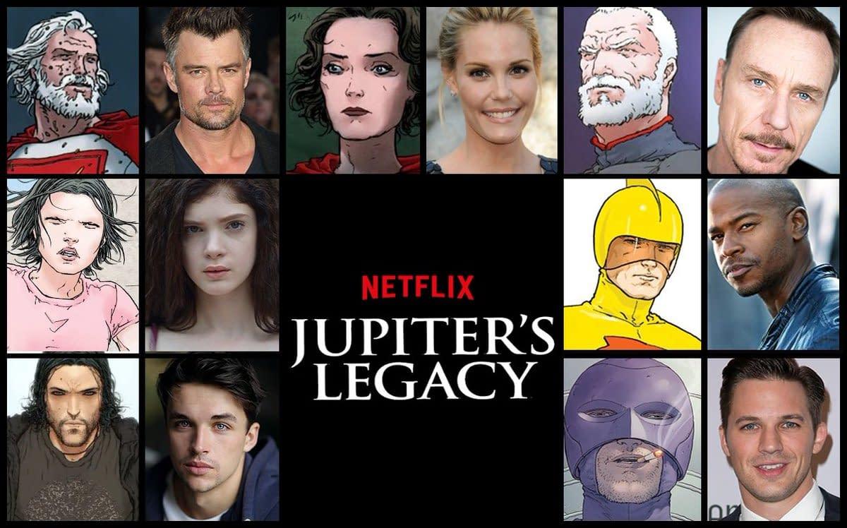 Jupiter's Legacy Watch Day #922: Mark Millar's Seen Recent Series Cut