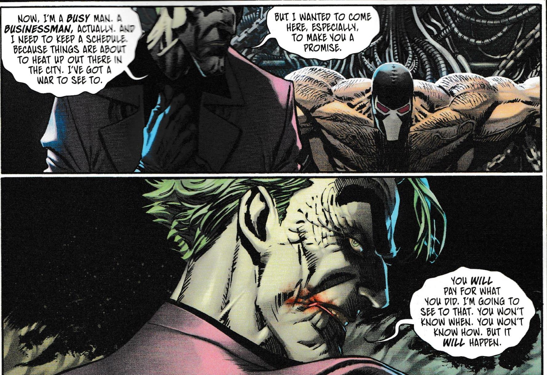 Bane Versus Joker For 2021? (Joker War Zone Spoilers)