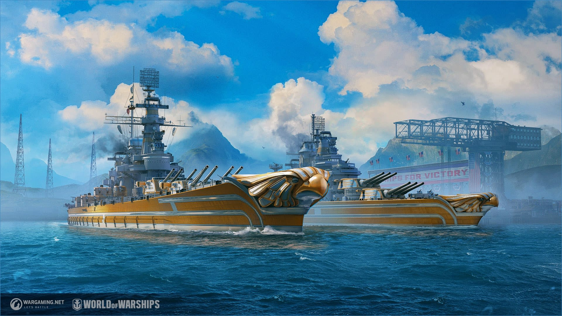 World Of Warships Just Got A New Fleet Of U S Ships
