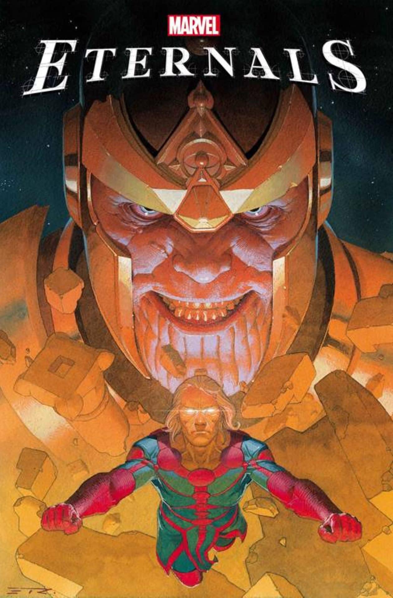 Thanos é o grande mal em Eternals da Marvel 1