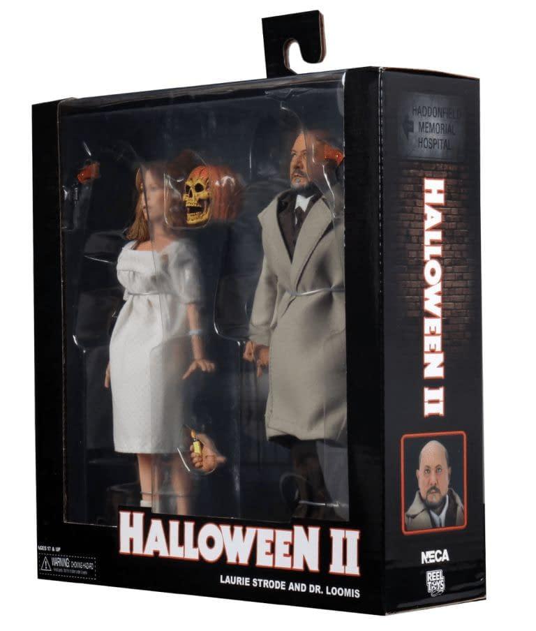 NECA Reveals Final Packaging For Halloween 2 Laurie & Loomis