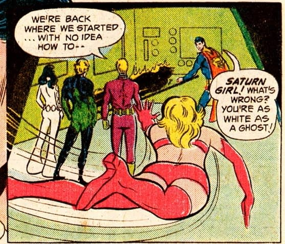 A Few Continuity Notes from Legion Of Super-Heroes #9 (Spoilers)