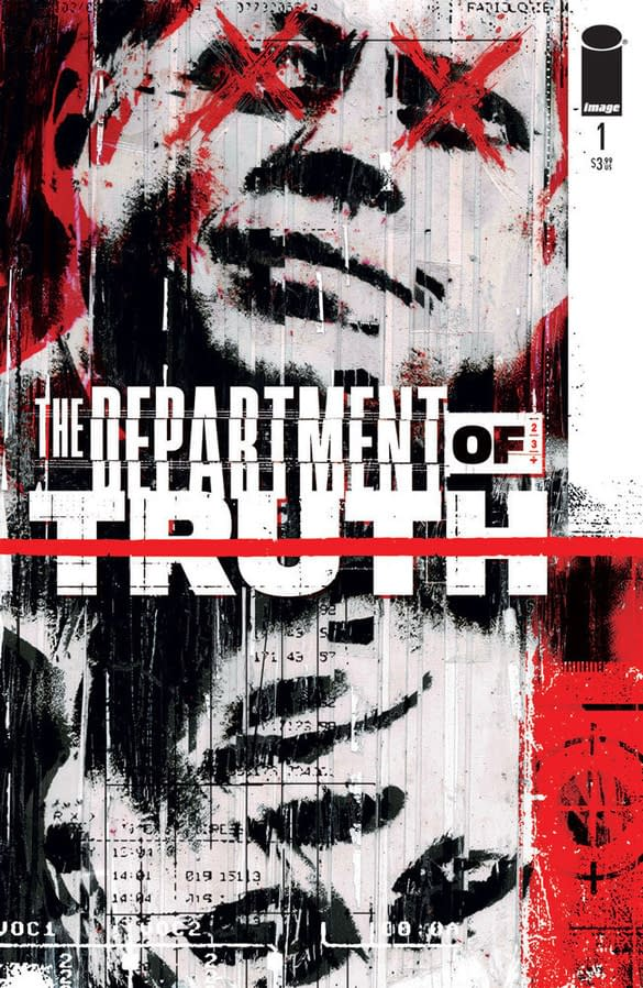The Department Of Truth #1 Has Orders Of Over 100,000