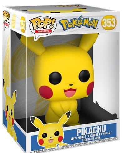 Eve Opens The Box II - Giant-Sized Pokemon Funko POP