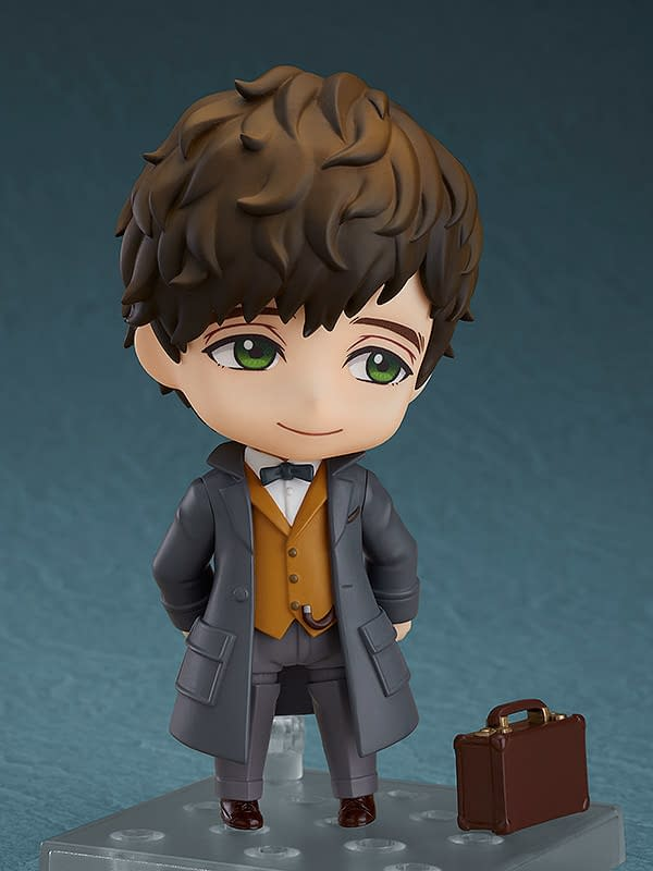 Fantastic Beasts Newt Scamander Joins Good Smile Company