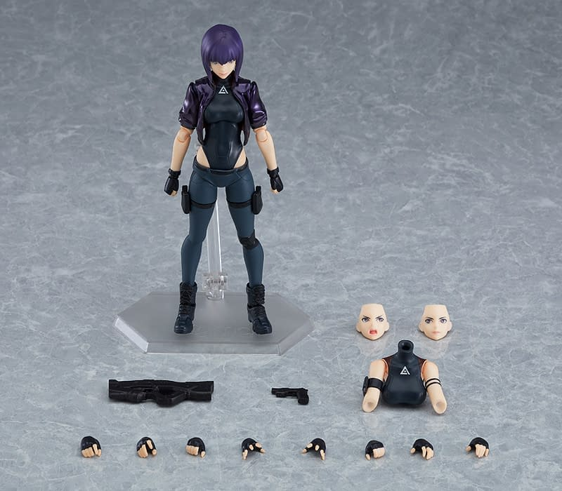Ghost in the Shell Major is Back with New figma from Good Smile