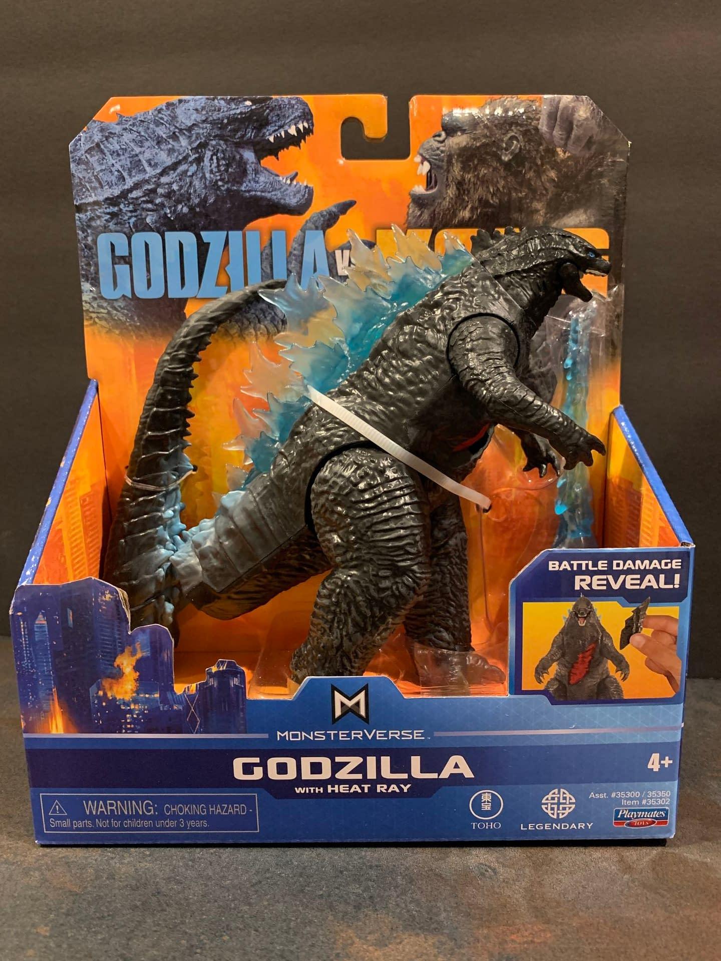 Godzilla Vs Kong: Let's Look At The Playmates Battle Damaged Figures