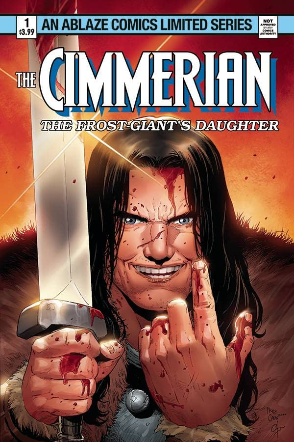 CIMMERIAN FROST GIANTS DAUGHTER #2 CVR D CASAS (MR)