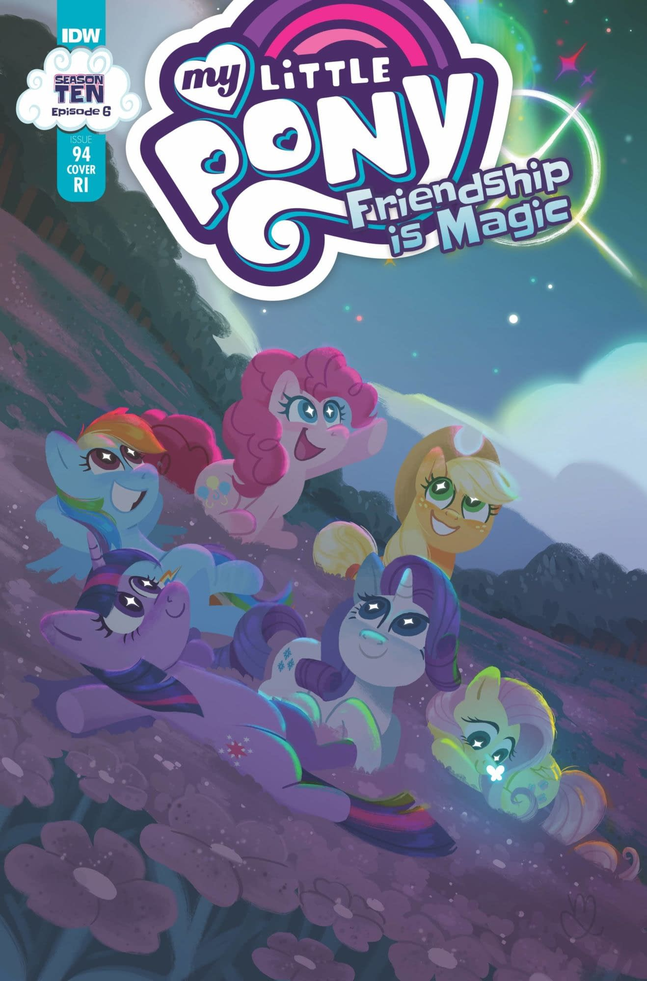 MY LITTLE PONY FRIENDSHIP IS MAGIC #94 10 COPY INCV MUFFY LE