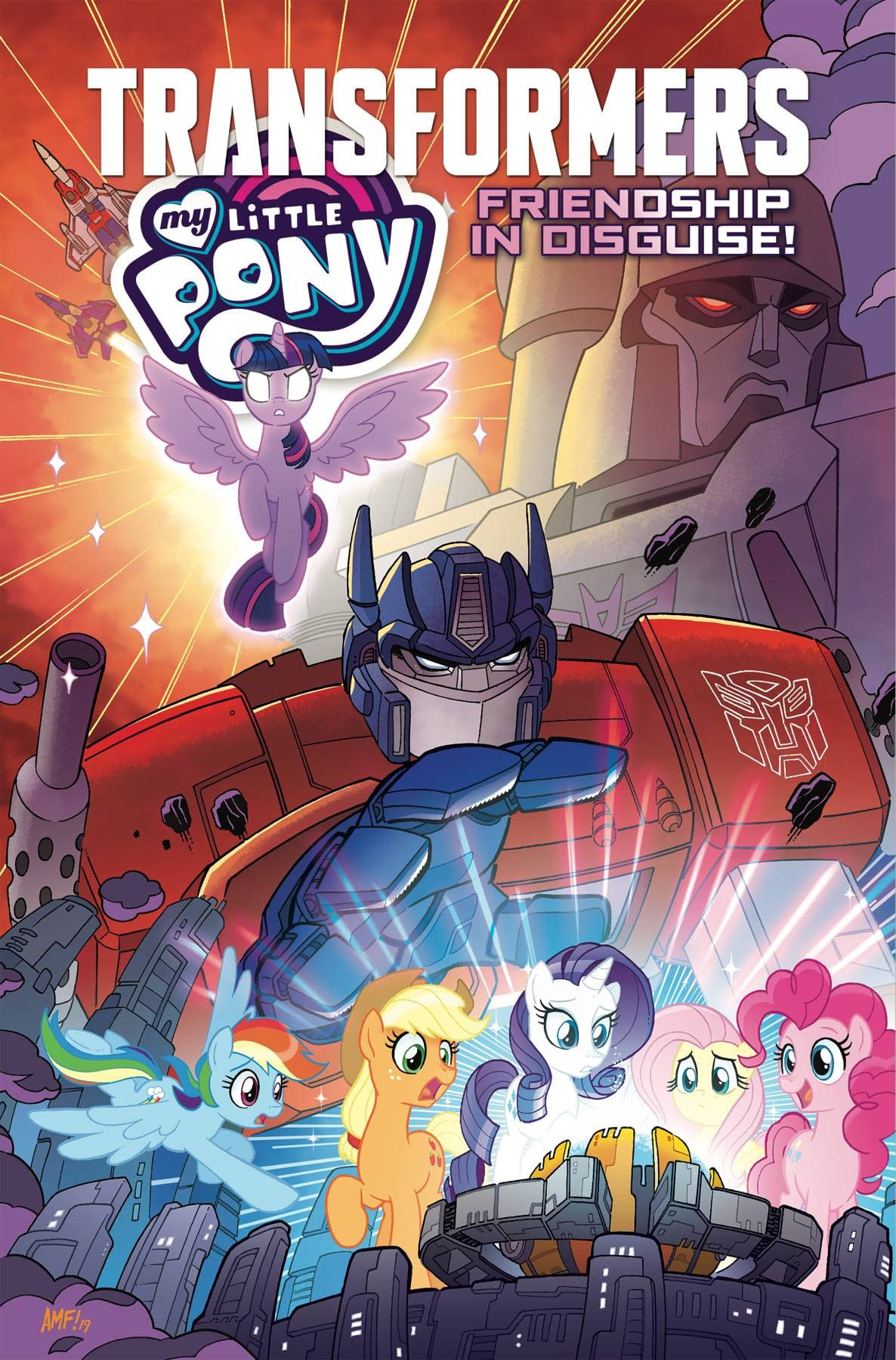 MY LITTLE PONY TRANSFORMERS TP FRIENDSHIP IN DISGUISE