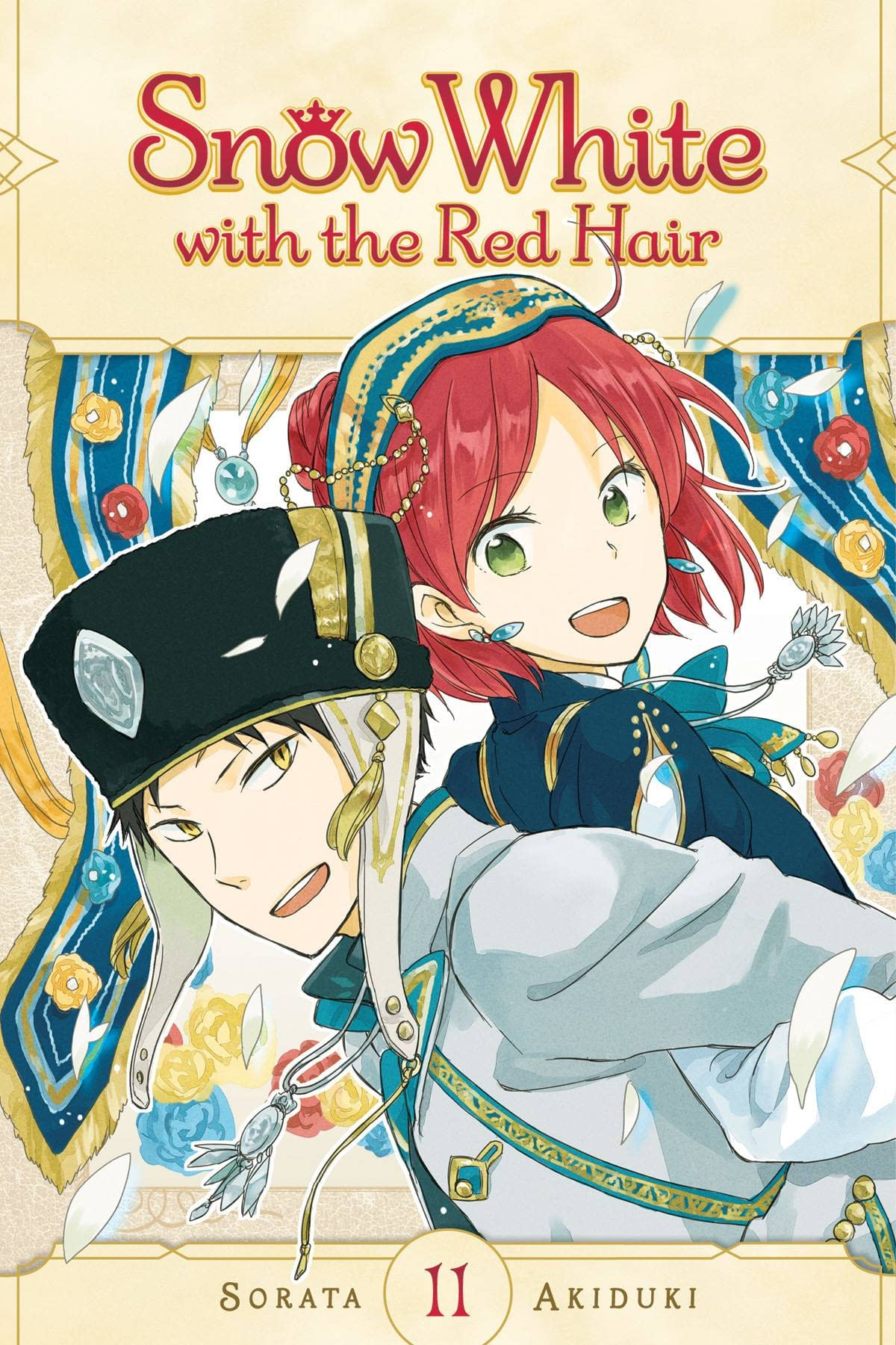 SNOW WHITE WITH RED HAIR GN VOL 11