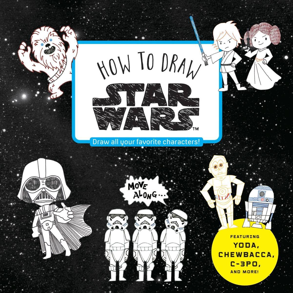 HOW TO DRAW STAR WARS SC