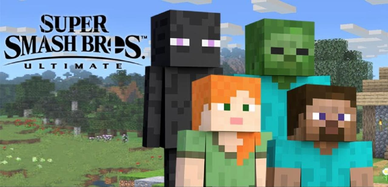 Super Smash Bros Minecraft
