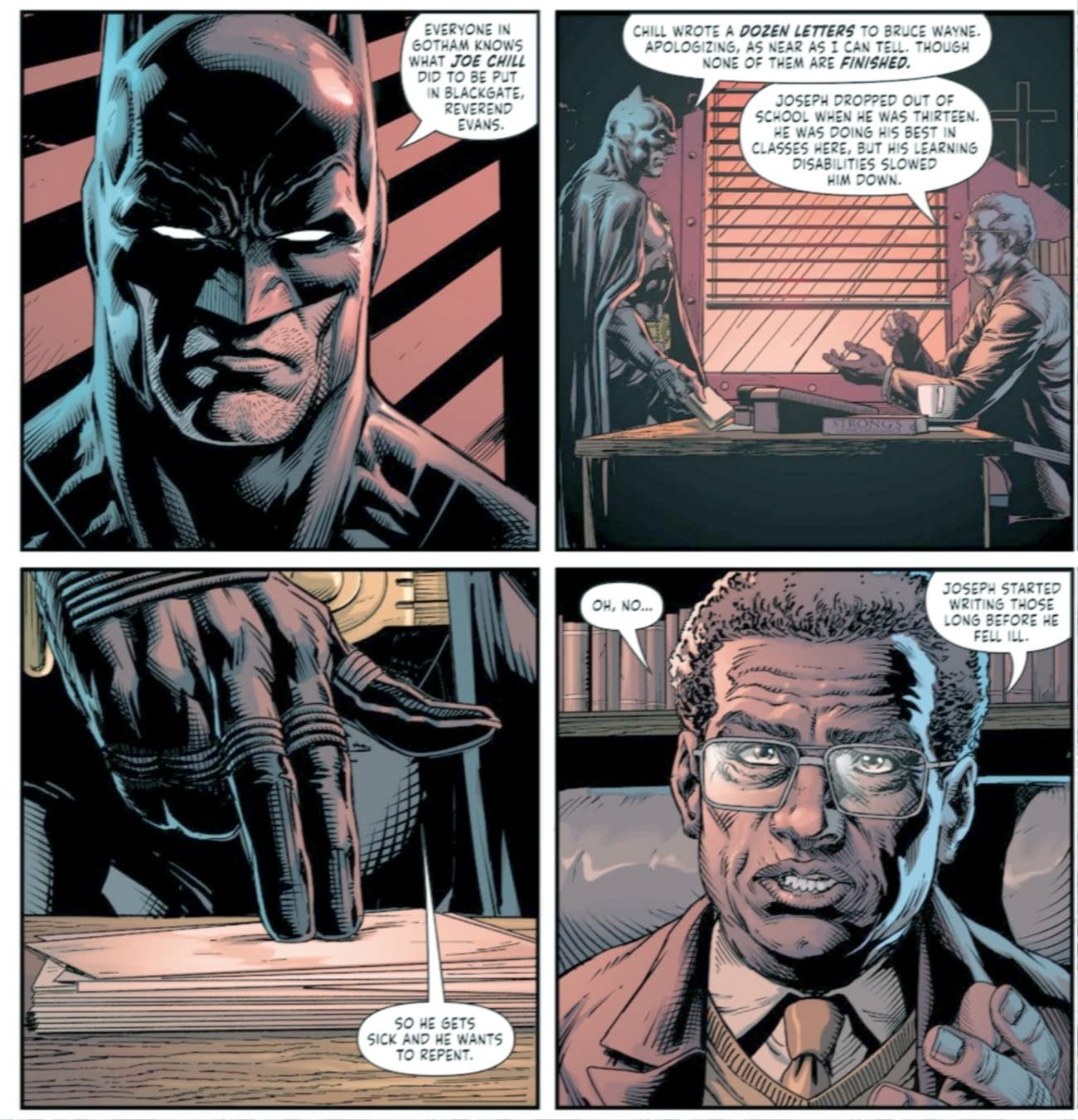 Does Three Jokers Give Batman Closure Over The Death Of His Parents The man who murdered thomas and martha wayne might just know who the batman is.or did he? three jokers give batman closure over