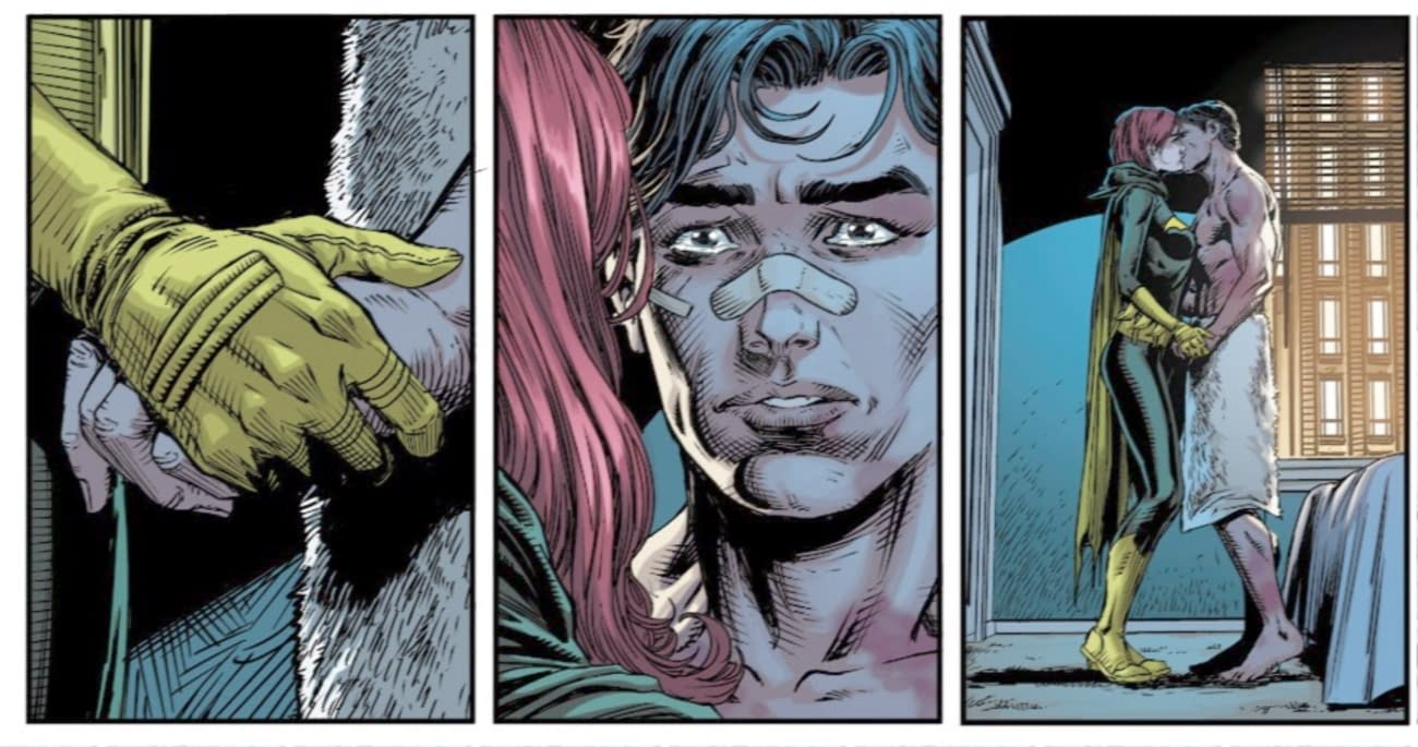 Barbara Gordon and Dick Grayson In DC Future State - And Beyond