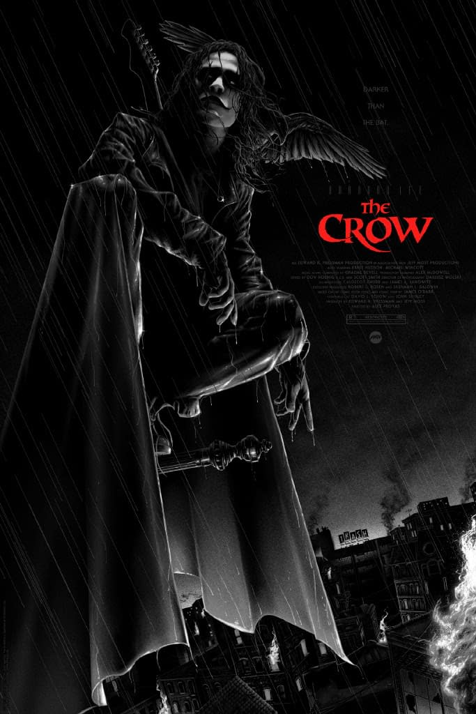 Mondo Has Crow, Return Of The Living Dead Posters Dropping Tomorrow