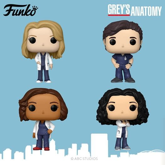 Funko Visits Grey Sloan Memorial Hospital with Grey's Anatomy Pops