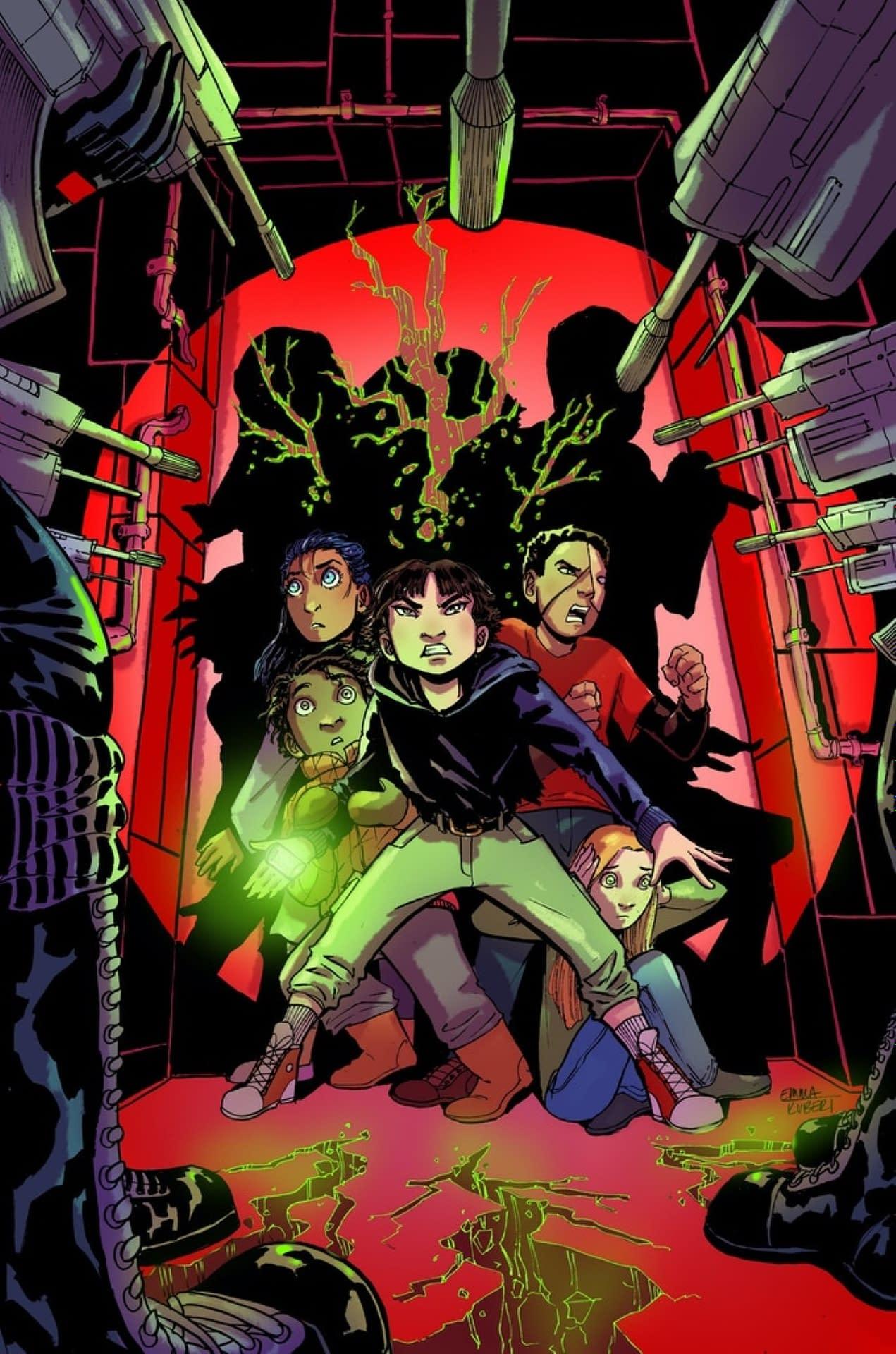 Inkblot #1 Main Cover Image Comics 2020 Emma Kubert and Rusty Gladd
