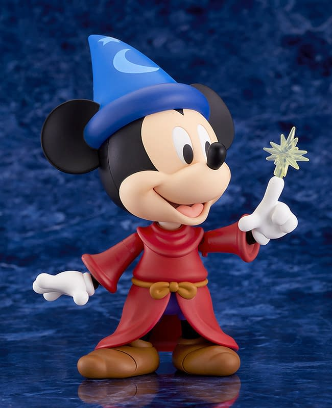 Mickey Mouse Becomes the Sorcerer's Apprentice with Good Smile