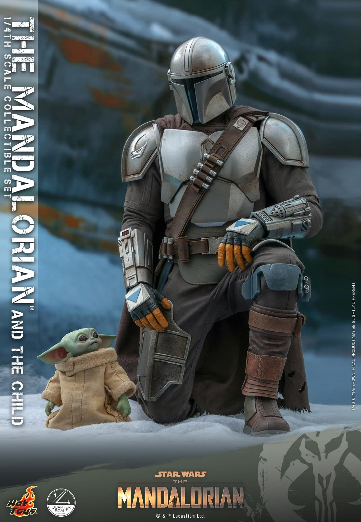 Hot Toys Announces 1  4th Scale The Mandalorian  U0026 The Child