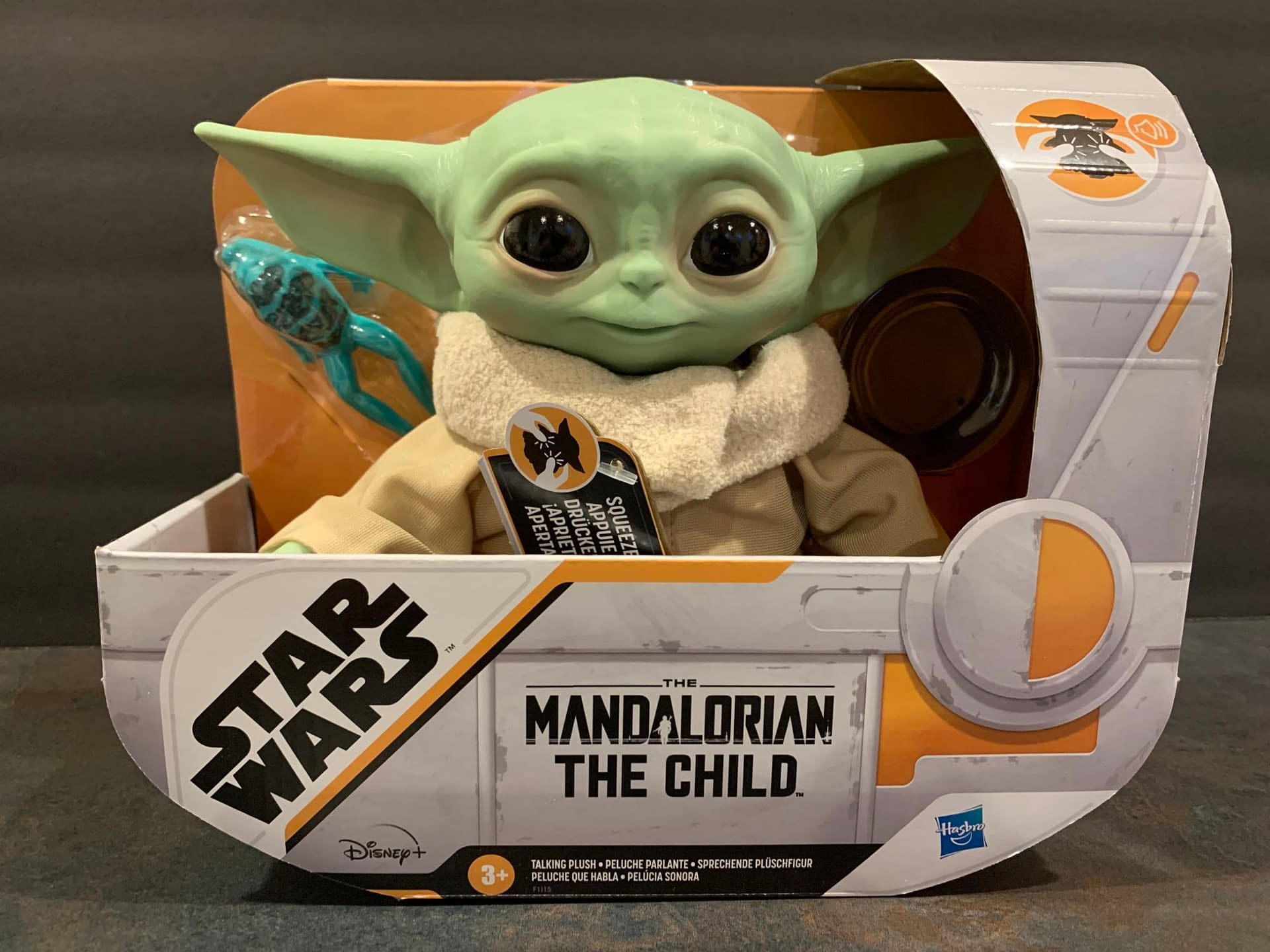 Unboxing A Huge Box Of The Child Mandalorian Toys From Hasbro